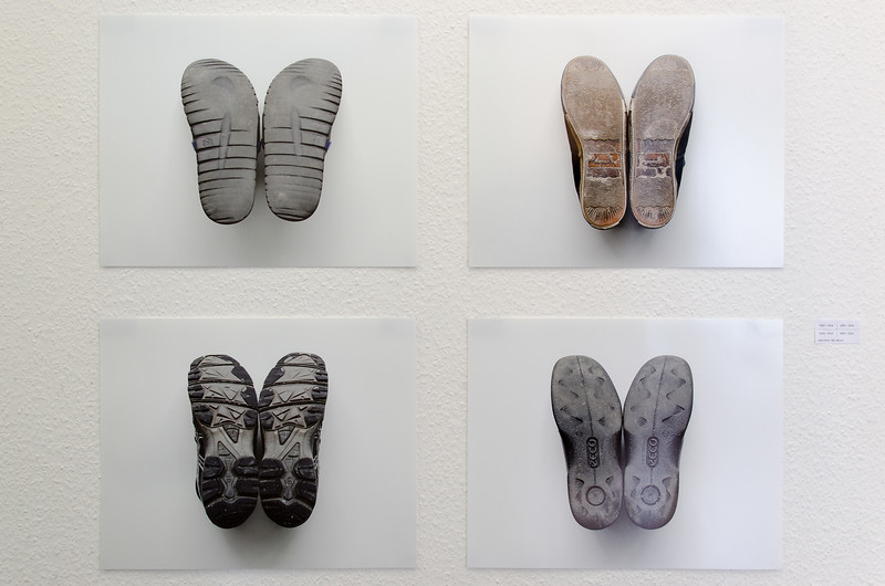 A series of 4 photographs, inkjet print on paper, 38 x 48 cm