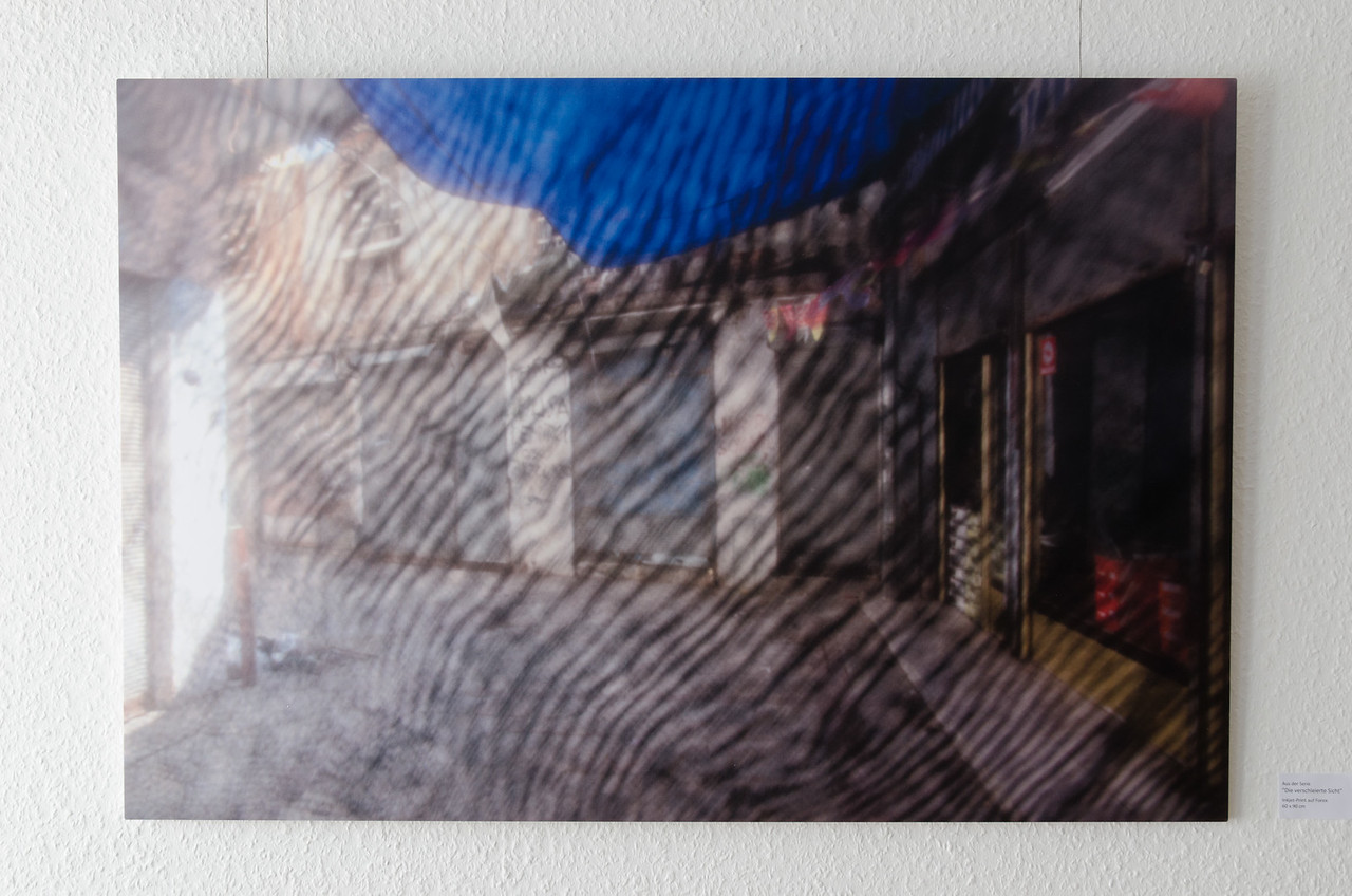 """From the series """"The veiled view"""", inkjet print on Forex, 60 x 90 cm"""