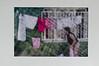 Laundry hanging woman, Balat, Istanbul, June 2012