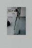 Preparatory work for the photography on a pillar in the gallery, inkjet print on forex (45 cm x 30 cm)