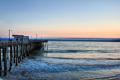 Dock at Pismo