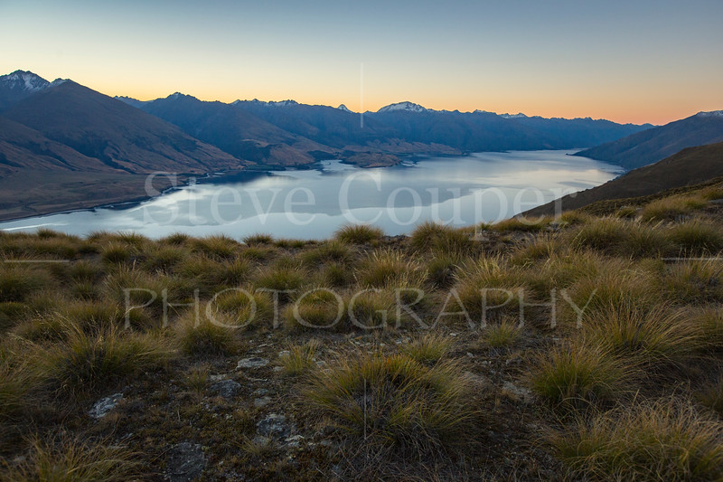 Quiet Descends on Lake Wanaka