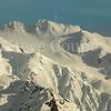 Snow laden Peaks