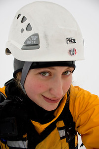 January 7, 2012. Day 1.  All dressed up in ice rescue gear.  Big Lake, Alaska