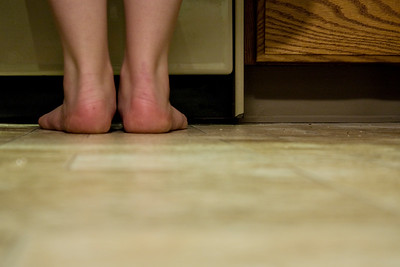January 29, 2012. Day 23.  I might need to clean my kitchen floor... Hanging around with John Borland in Wasilla, Alaska