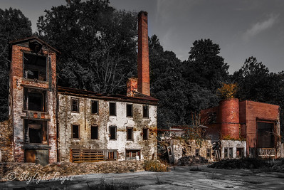 1841 Bondsville Woolen Mill, outside Downingtown, PA.