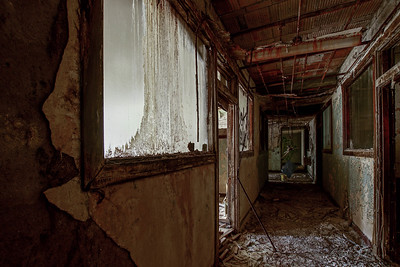 Inside Abandoned Train Station in Brownsville PA.