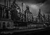 Bethlehem Steel Stacks in Bethlehem PA.