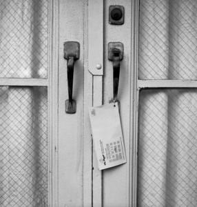 Door  Taken with Mamiya C220