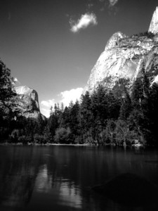Yosemite  From 35mm B&W negative