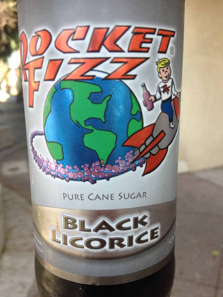 I opted for the more traditionally flavored soda