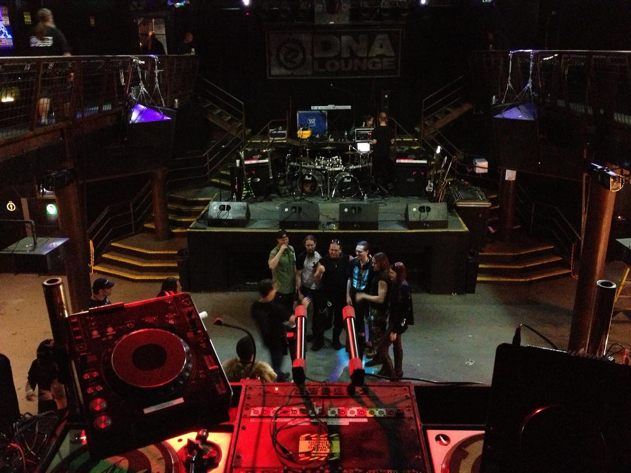 Ensiferum meet & greet at DNA lounge