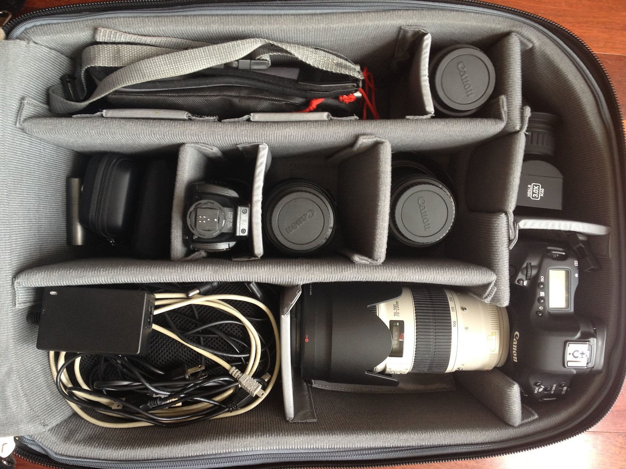 ThinkTank Airport Security locked and loaded! No Graflex on this trip