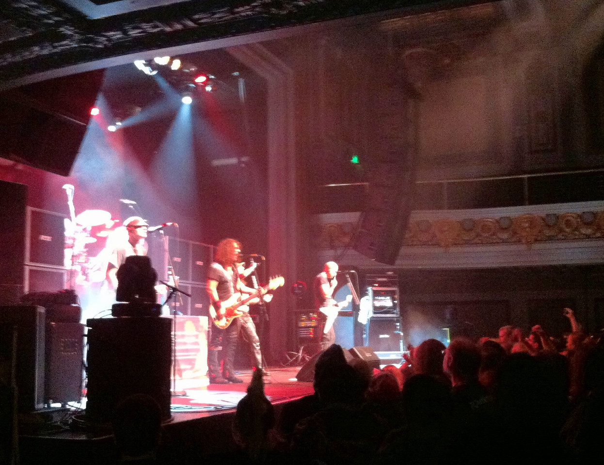 Accept at Regency Ballroom. Old school heavy metal!