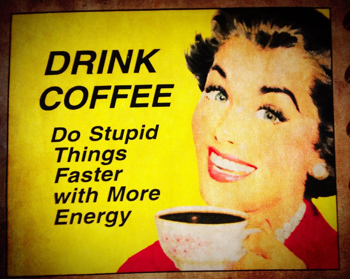 Coffee rocks!