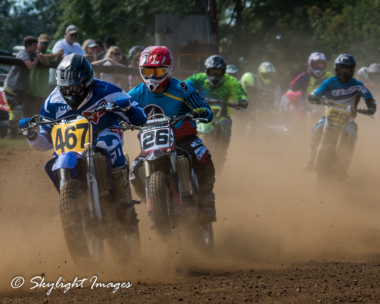 Piston Poppers Motorcycle Racing, Parkesburg, PA. 2015