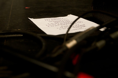Set list at Regency Ballroom