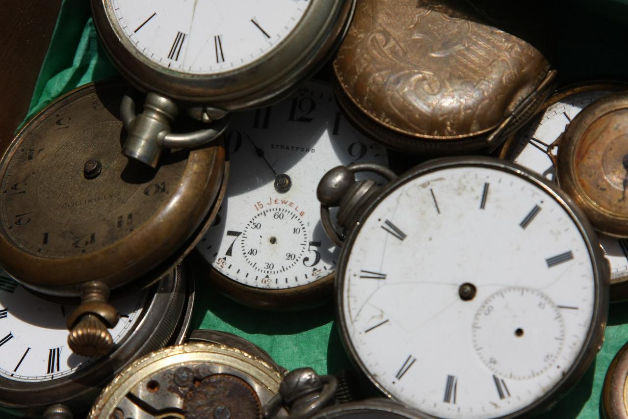 Watches in Flea Market