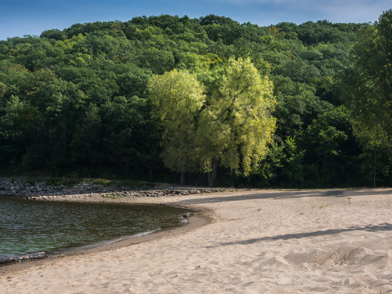 A Beach On the St. Croix