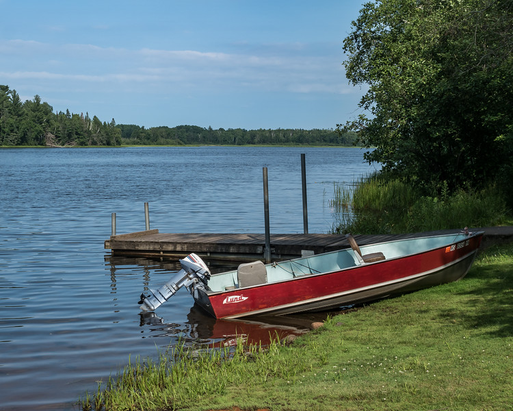 Boat On the St. Croix Flowage