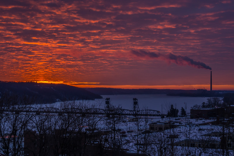 Stillwater Winter Sunrise