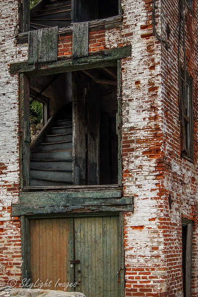 1841 Bondsville Woolen Mill, outside Downingtown, PA.