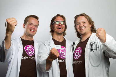 Founders  My friends and old colleagues launched their service publicly on June 6th in Founders Den in San Francisco. Better Doctor is a service that helps you find a good doctor that accepts your health insurance and is close to you.