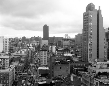 8/8/2012, Canal street, New York, NY. Another shot with my 4x5 Graflex. I really should take the camera out more to get accustomed to using it.