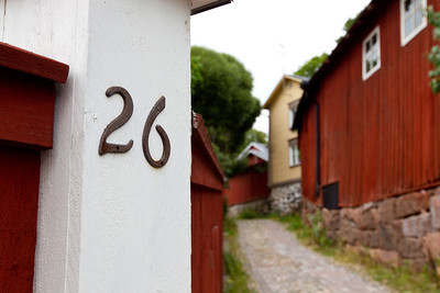 Old Porvoo. This pictoresque old town about half an hour from Helsinki is definitely worth a trip. Small alleys criss-cross the town that is perched on a small hill overlookign river Porvoo.  The town was founded in 1346 and is one of six medieval town in Finland.