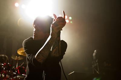 Suicide Silence,  2/18/2012, The Warfield, San Francisco
