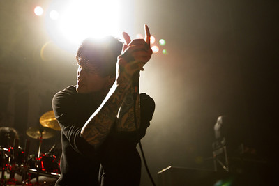 Suicide Silence,  2/18/2012, The Warfield, San Francisco