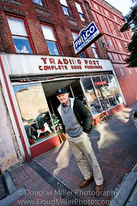 Spent the day shooting in Petersburg to prepare for workshop, and as usual I expected some surprises.  Met Raymond C. Wilson owner of the Trading Post on Sycamore Street, he purchased building and started business in the early 1950's.  Abraham Lincolns maid lived up stairs in a apartment, a great location to work your Inner Vision.  We will spend as much time as you would like here, along with other great locations.