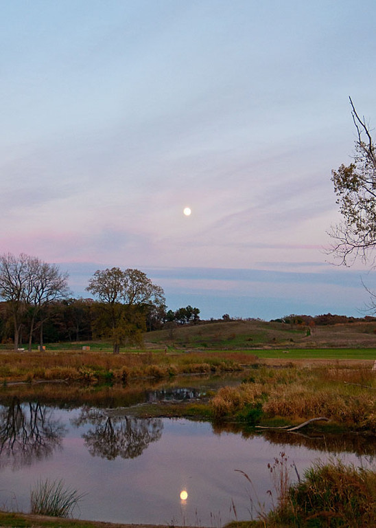 Setting of the Fall Sun<br />   Glacial Park -  McHenry County Conservation Dist.- Ringwood, IL<br /> <br /> Susan Dollman - Union,IL