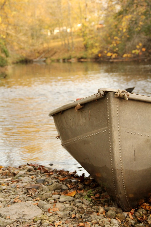 Final Fall Boat Ride<br /> <br />       Jen Kleinschmidt - Wonder Lake, IL