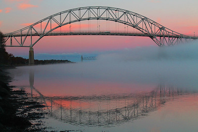 Smoke on the water Cape Cod Canal