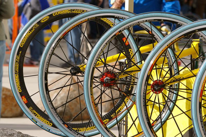 Mavic wheelsets