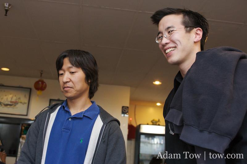 Randy and Joon-Mo