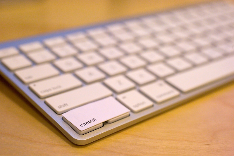 Finally, a large control key on the Apple Wireless Keyboard