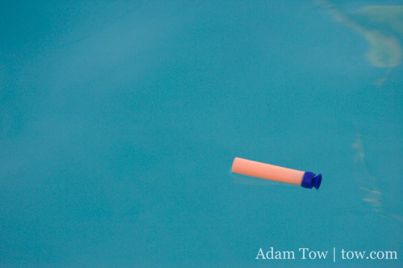 Swimming Nerf Dart