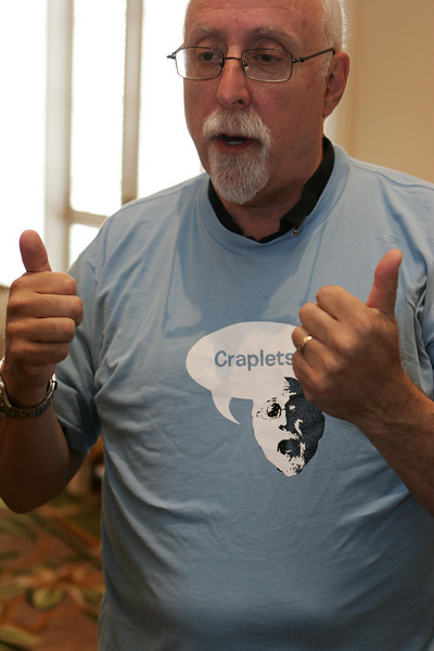 Walt gives Craplets a thumbs-up... maybe