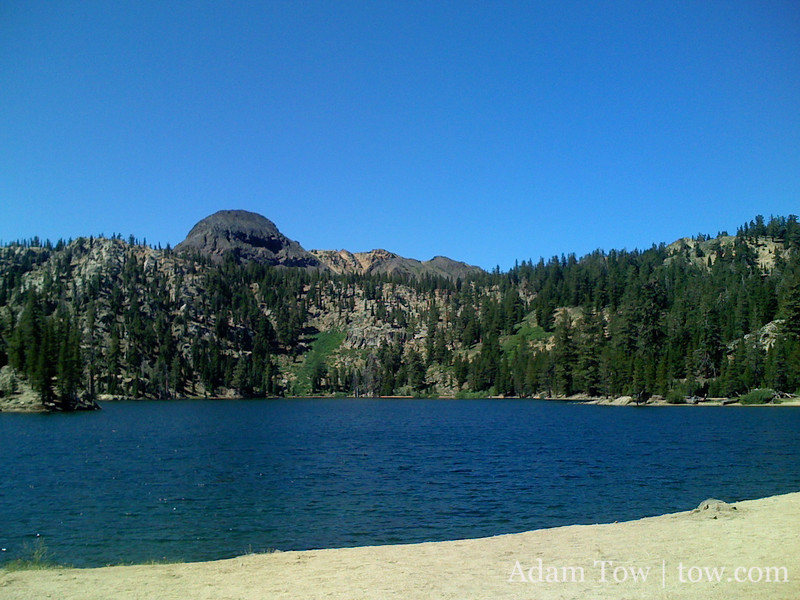 Ah, the lake a mile from the top of Ebbets Pass.