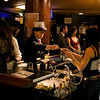 The drinks were flowing from the bar below and up top at the Edwardian Ball in San Francisco.