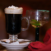 A coffee to help the margarita go down more smoothly.