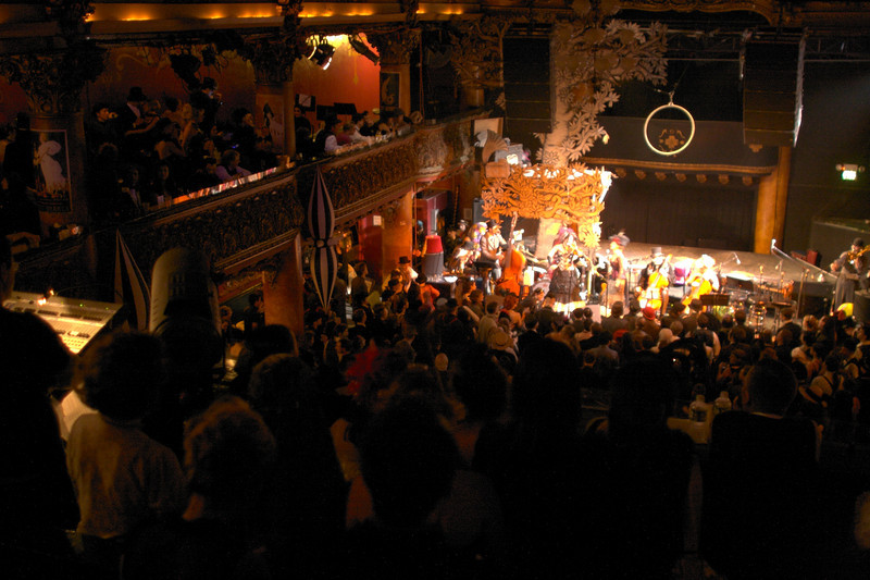 The view from the upper-level at the 2007 Edwardian Ball.