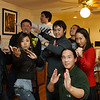 Wushu friends strike a pose at our New Year's Party.