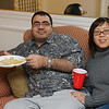 May and Salim relax before in the closing hours of 2006.