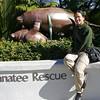 I kid with Rae that I swim like an injured manatee.