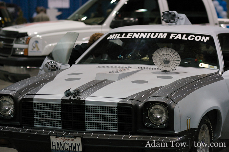Millennium Falcon art car