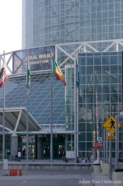 Star Wars Celebration IV was held at the Los Angeles Convention Center.