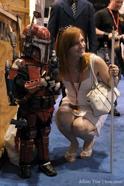 Red heads unite at Star Wars Celebration IV.